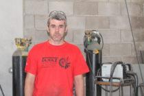Trabajos de metalúrgia en manos de los hermanos Andolz